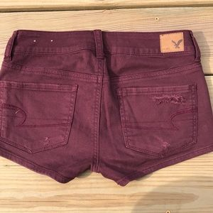 American Eagle Outfitters Shorts - American Eagle stretch distressed shortie shorts